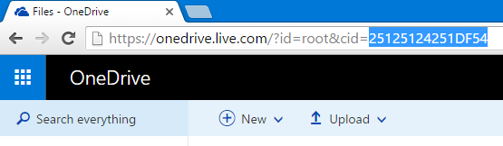 onedrive-unique-id