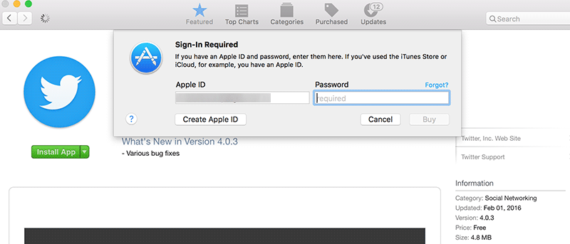 How to Bypass the Password Prompt When Downloading Free Apps From the Mac App Store