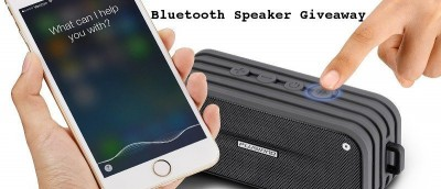 Plusinno Waterproof Bluetooth Speaker with Voice Control Review