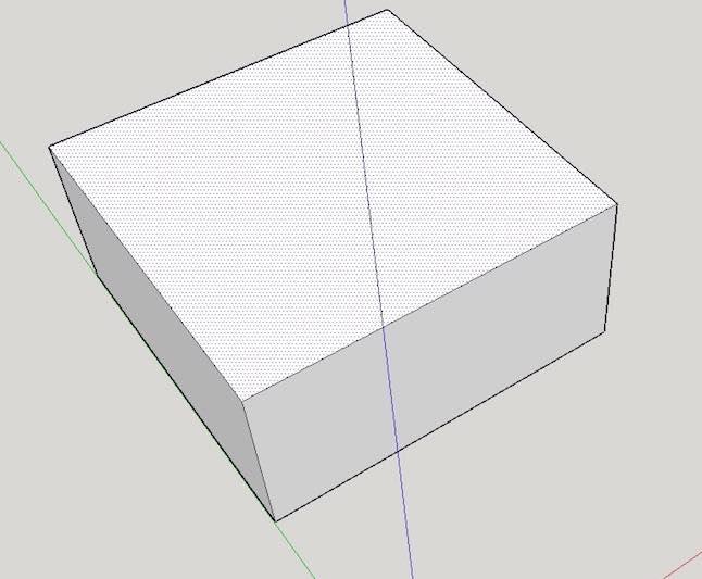 sketchup-basics-extrude-pull