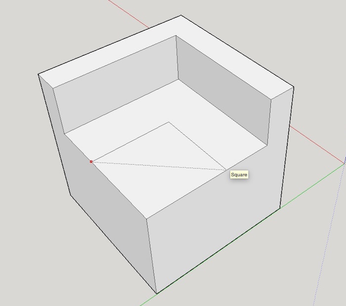 sketchup-basics-second-square