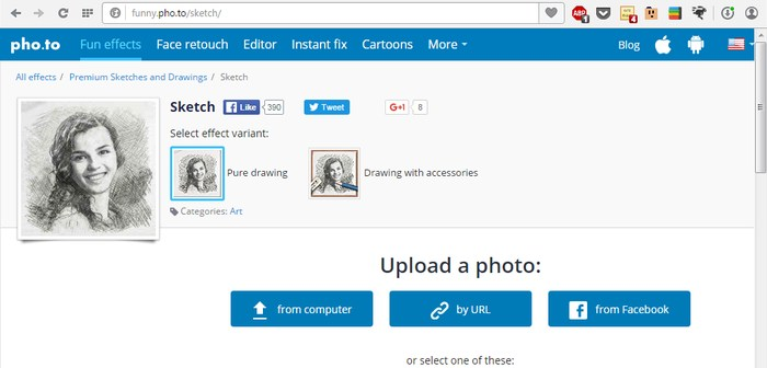 Add-Sketch-Effect-To-Photos-Pho.to-Upload-Photo