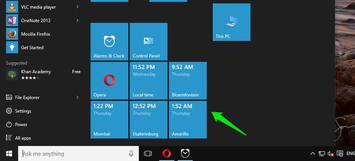 Add-clocks-in-Windows-10-Time-in-Start-menu