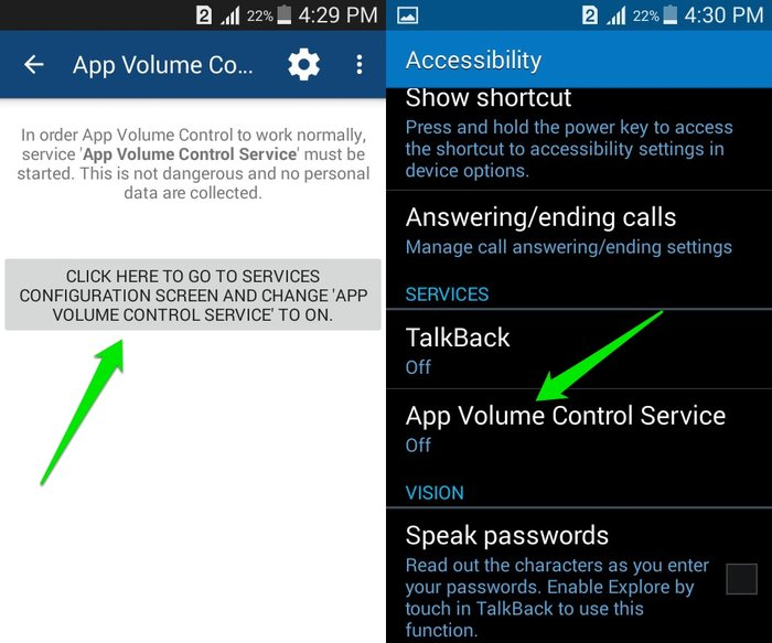 Android-App-Volume-Manager-enable-service