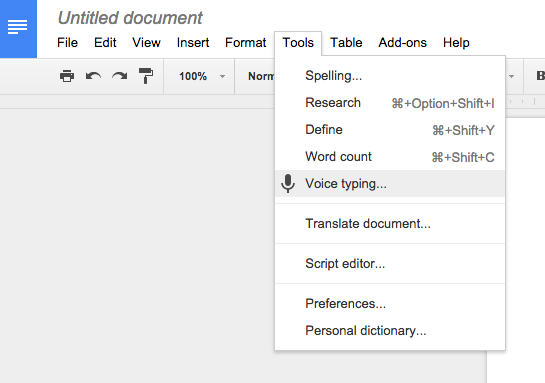 Google_Docs_Voice_Typing_Tools