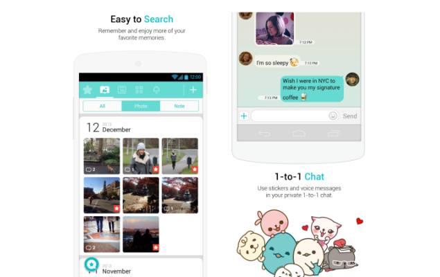 Long distance relationship app - Between