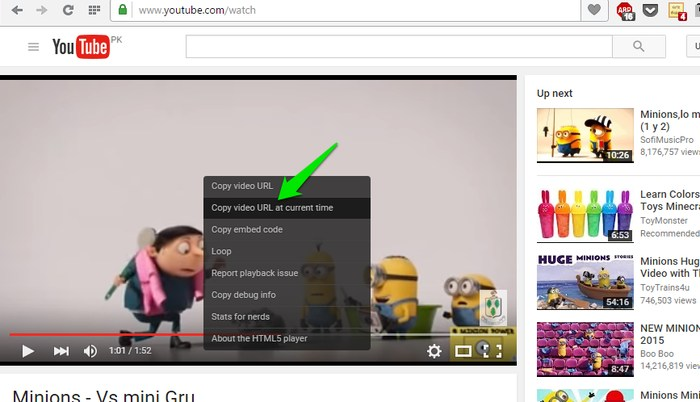 Share Specific Part of a YouTube Video With These Methods