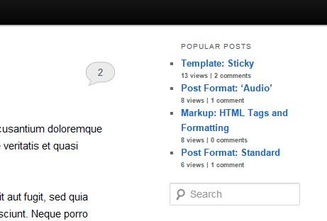 Traffic -mte- WordPress Popular Post