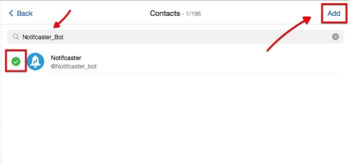 Wordpress n Telegram -mte- add bot to group