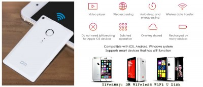 DM Wireless WiFi U Disk Review