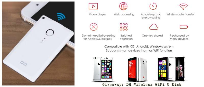DM Wireless WiFi U Disk Review