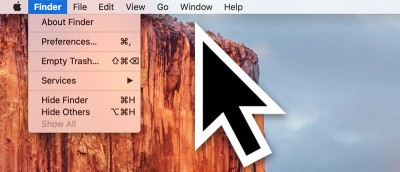 How to Stop the Cursor from Getting Bigger in OS X El Capitan