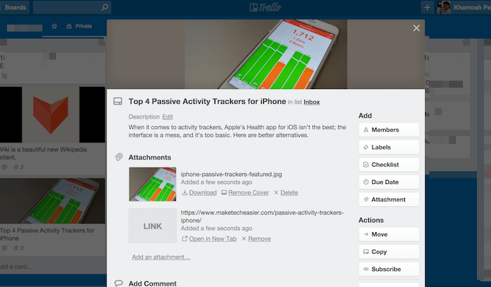 trello-extension-board