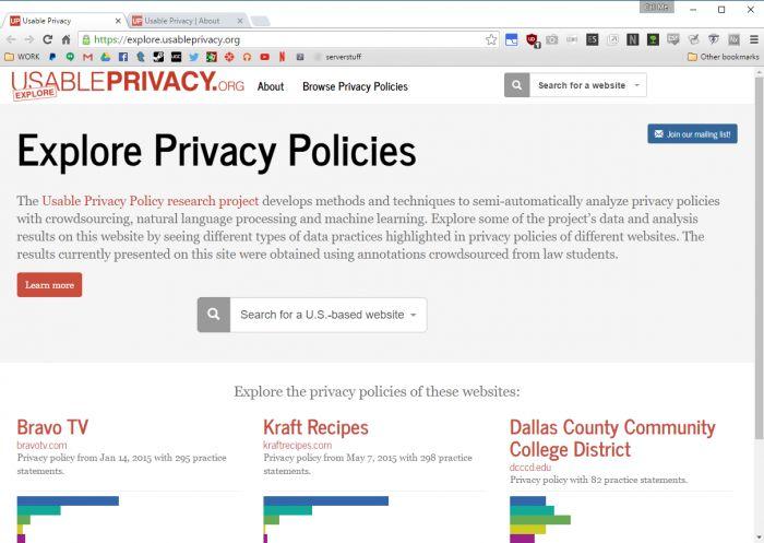 usableprivacy-tool