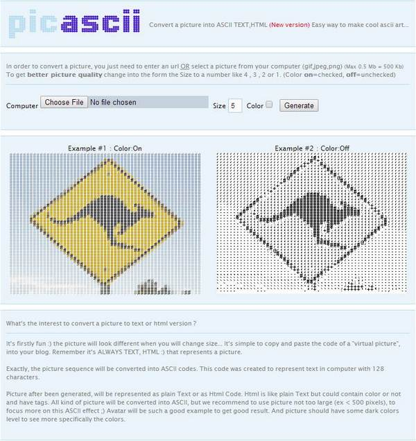 Three Converters to Convert Your Pictures to ASCII Art
