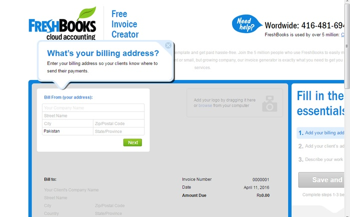 invoices for free