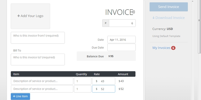Create-invoices-Invoiced-lite