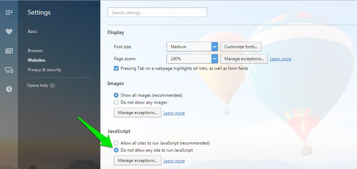 Enable-Right-Click-Disable-Javascript-in-Opera