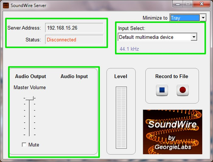 Funnel-Audio-to-Android-Soundwre-Server