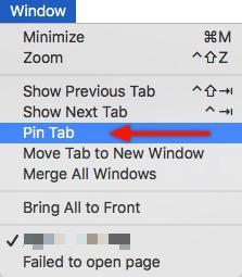 Safari Tab -mte- pin tab
