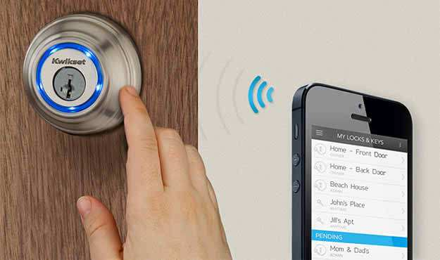 Smart-home-security-gadgets-Kevo-Smart-Lock