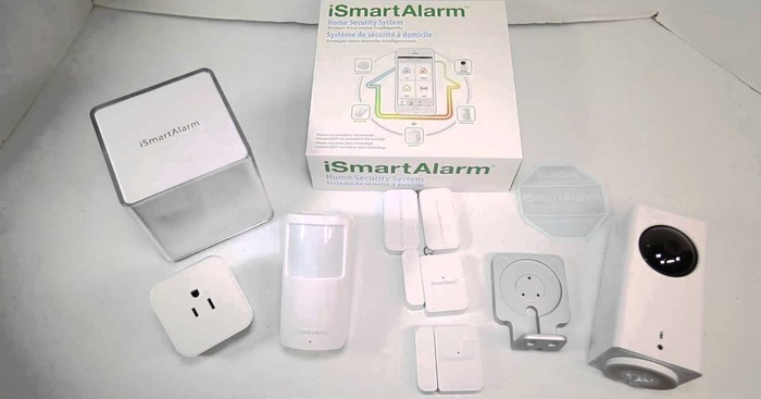 Smart-home-security-gadgets-iSmartAlarm