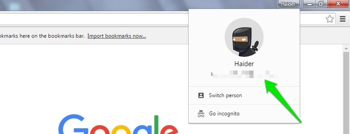 Switching User Profiles In Chrome Via Keyboard Shortcuts