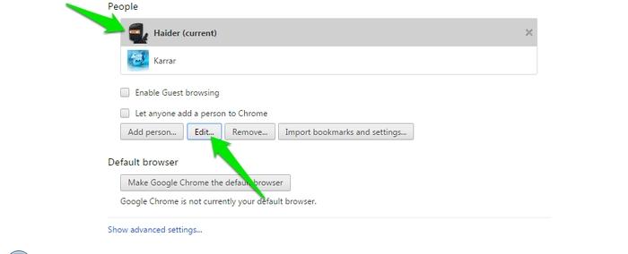 Switch-Chrome-User-Profile