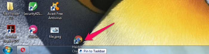 Switch-Chrome-User-pin-to-taskbar