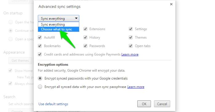 Sync-Chrome-Data-Select-Yourself