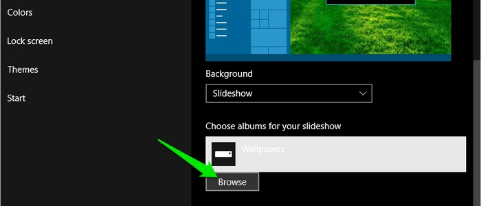 Windows-10-Slideshow-Browse