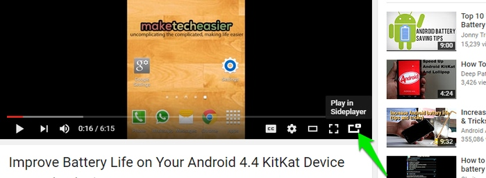 YouTube-Picture-in-Picture-Sideplayer-button