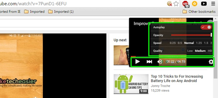 YouTube-Picture-in-Picture-Sideplayer-options