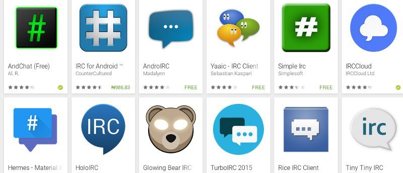 5 Great IRC Clients for Android