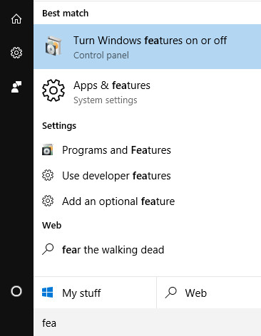 bash-windows-10-turn-on-features