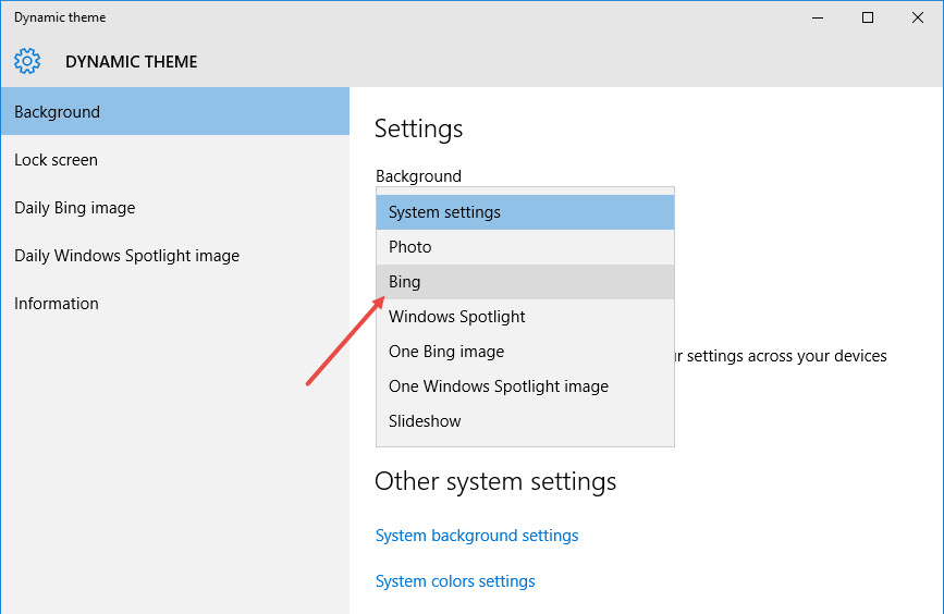 dynamic-theme-select-option-bing