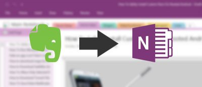 Move Your Evernote to OneNote