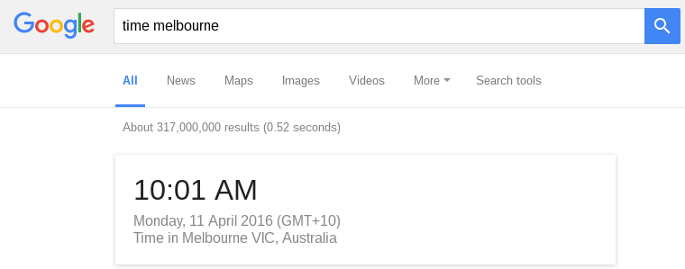 google-search-time
