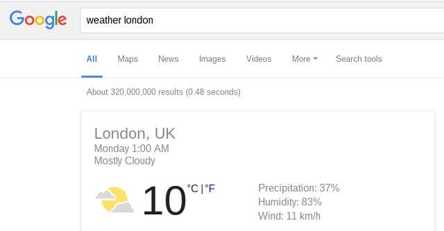 google-search-weather