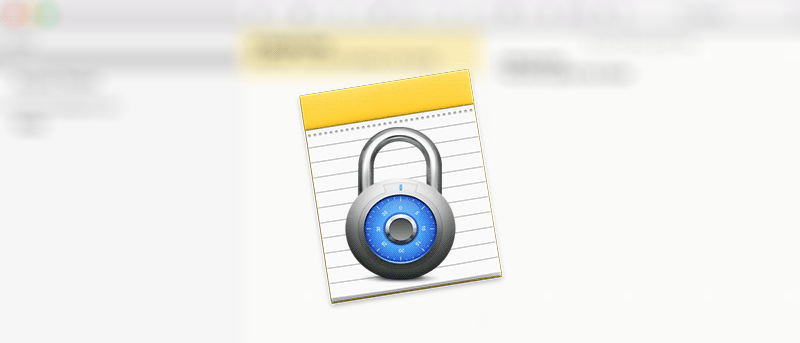 How to Lock the Notes on Your Mac