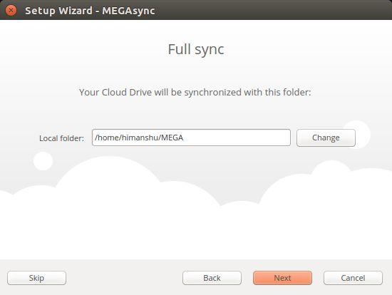 megasync-sync-folder