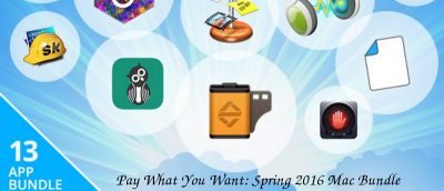 Pay What You Want: Spring 2016 Mac Bundle