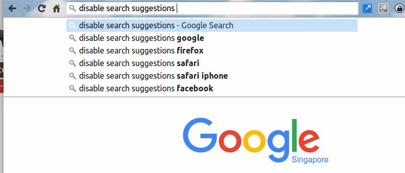 How to Disable Search Suggestions in Chrome and Safari