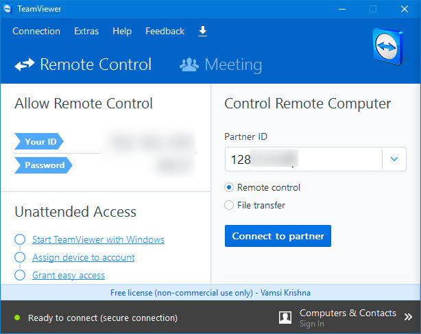 How to Mirror Android Screen Using TeamViewer in Windows