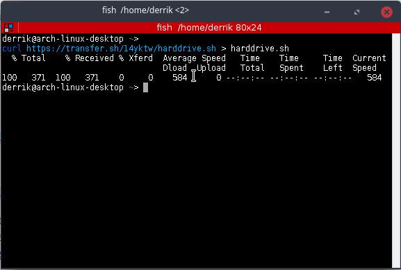 transfersh-downloading-file