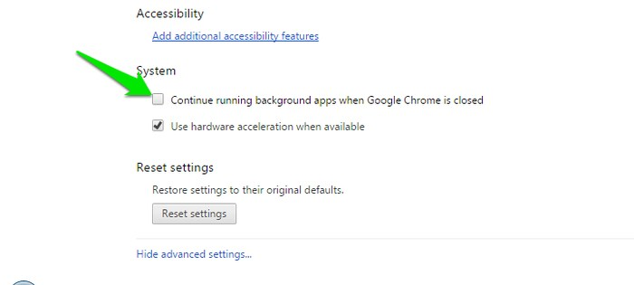 Stop-Chrome-Background-process-Disable