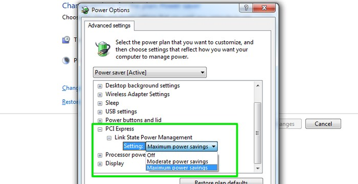 Tweak-Windows-Power-Options-PCI-Express