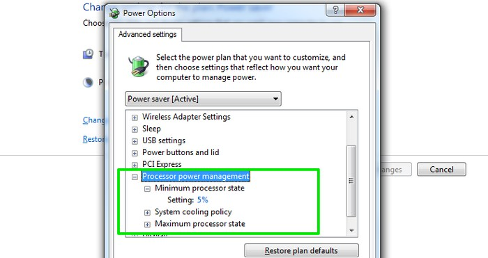 Tweak-Windows-Power-Options-Processor-Power-Management