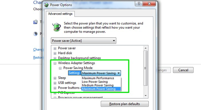 Tweak-Windows-Power-Options-Wireless-Adaptor-Settings