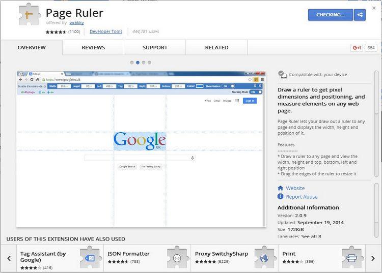 WebInter-PRuler-WebSTore